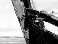 Croyd-Bay-wreck-black-and-white-photograph-22-x-50-cm